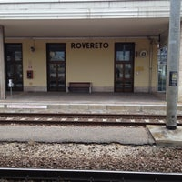 Photo taken at Stazione di Rovereto by Daniele D. on 2/11/2012