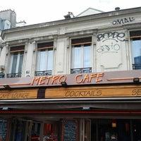 Photo taken at Métro Café by Phil on 8/31/2012