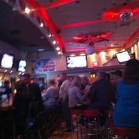 Photo taken at Pat's Pizza & Pasta/MVP Sports Lounge by Han Y. on 3/17/2012