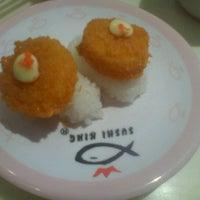 Photo taken at Sushi King by LISEN on 2/4/2012