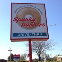 Photo taken at Spunky Dunkers by kymberlee kaye r. on 4/11/2012