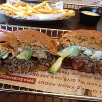 Photo taken at Smashburger by Amy F. on 3/4/2012