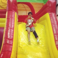 Photo taken at Jump'n Jungle by Marcie E. on 7/15/2012