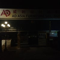 Photo taken at AD Asia Furniture by Chu Y. on 4/5/2012