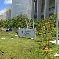 Photo taken at Universidad del Caribe by Juan Manuel L. on 5/29/2012