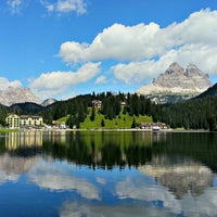 Photo taken at Lago di Misurina by Federico M. on 8/12/2012