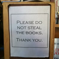 Photo taken at Unnameable Books by Emma W. on 5/31/2012