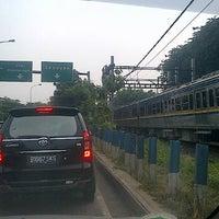Photo taken at Lampu Merah Permata Hijau by Adhika W. on 2/16/2012