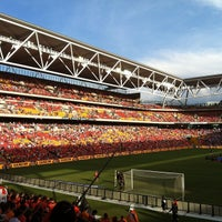 Photo taken at Suncorp Stadium by Dave W. on 4/22/2012