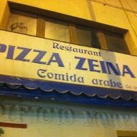 Photo taken at Restaurante Pizza Zeina by Raul G. on 7/10/2012