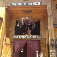 Photo taken at Saddle Ranch Chop House by Ed C. on 5/27/2012