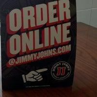 Photo taken at Jimmy John's by Jim M. on 3/17/2012