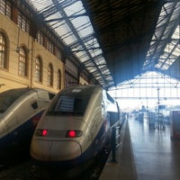 Photo taken at Gare SNCF de Marseille Saint-Charles by Brian S. on 9/6/2012