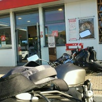 Photo taken at Area di Servizio Drove Ovest by Iacopo N. on 7/18/2012