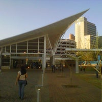 Photo taken at Gautrain Park Station by Lionel B. on 8/25/2012