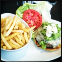 Photo taken at 5 Napkin Burger by Paul M. on 8/17/2012