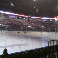 Photo taken at Rushmore Plaza Civic Center Ice Arena by Sharon S. on 2/11/2012