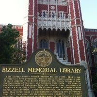 Photo taken at Bizzell Memorial Library by Michael R. on 5/1/2012