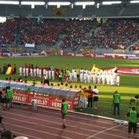 Photo taken at King Baudouin Stadium by Benny S. on 5/25/2012
