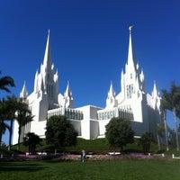 Photo taken at San Diego California Temple by Rahshan H. on 3/13/2012