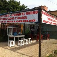 Photo taken at Carnitas Las Torres by Misael L. on 8/7/2012
