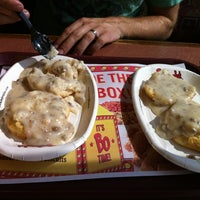 Photo taken at Bojangles' Famous Chicken 'n Biscuits by Olivia M. on 7/7/2012