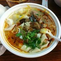 Photo taken at Lamb Noodle Soup by Xixi on 2/9/2012