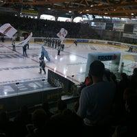 Photo taken at Keine Sorgen EisArena by Gerald B. on 4/1/2012