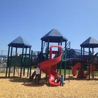 Photo taken at Covington Mini Park by Claire L. on 7/9/2012