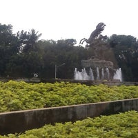 Photo taken at Patung Diponegoro by ryolasta on 8/2/2012