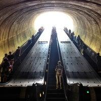Photo taken at Dupont Circle Metro Station by Naty B. on 7/29/2012