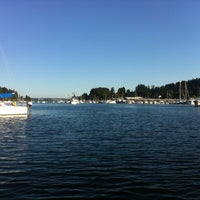 Photo taken at Gig Harbor Waterfront by Dan D. on 9/4/2012