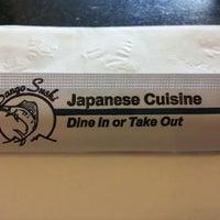 Photo taken at Sango Sushi by D C. on 9/7/2012