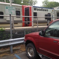 Photo taken at Metro North - Woodlawn Train Station by Cynthia A. on 4/26/2012