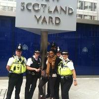 Photo taken at New Scotland Yard by Stewbean on 8/7/2012