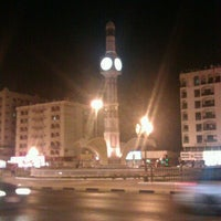 Photo taken at Sharjah Clock Tower by Rashid S. on 9/5/2012