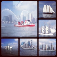 Photo taken at NY Waterway Ferry - Wall St/Pier 11 Terminal by Raul C. on 5/23/2012