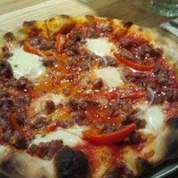 Photo taken at Pizzeria Delfina by Helen W. on 6/17/2012