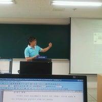 Photo taken at 단국대학교 상경관 by Daihkim K. on 5/26/2012