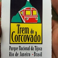 Photo taken at Trem do Corcovado by Sergio B. on 4/1/2012