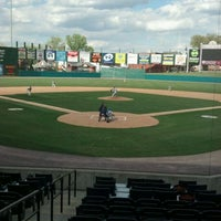 Photo taken at PeoplesBank Park by Tisha S. on 4/9/2012
