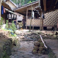 Photo taken at Wisata Suku Baduy by uga r. on 3/15/2012