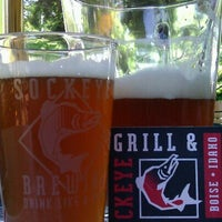 Photo taken at Sockeye Grill And Brewery by Denise L. on 7/22/2012