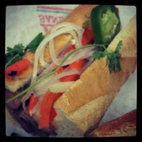 Photo taken at Lee's Sandwiches by Liz S. on 6/29/2012