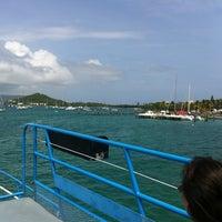 Photo taken at St. Thomas - St. John Ferry by Dan S. on 5/19/2012