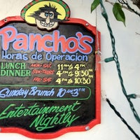 Photo taken at Pancho's Restaurant by Harrison H. on 3/19/2012