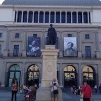 Photo taken at Plaza de Isabel II by Gavan K. on 5/23/2012