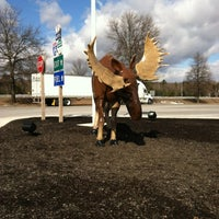 Photo taken at Kennebunk Service Plaza (Northbound) by Amanda Ann on 2/25/2012
