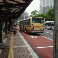 Photo taken at 横浜駅西口 バスターミナル by ffbanana on 6/17/2012