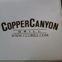 Photo taken at Copper Canyon Grill by Kathy G. on 5/13/2012